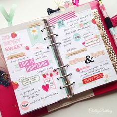 Strawberry fields in my Dark Pink Color Crush planner from a few weeks back. You see, I had planned on sharing these while on the road, but that didn't pan out quite as I hoped. There was a certain...