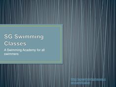 swimming Lessons Singapore on going classes would be conducted in next week interested persons call us.