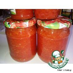Соус итальянский с базиликом и томатами