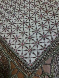 Beaded Embroidery, Cross Stitch Embroidery, Embroidery Designs, Stitch Design, Bohemian Rug, Applique, Beads, Rugs, Crafts