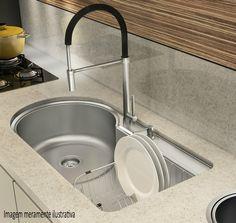 Na hora de cozinhar e lavar a louça a #pia faz uma grande diferença! #Prod135619