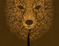 The Bear Tree by Patrick Seymour, via Behance