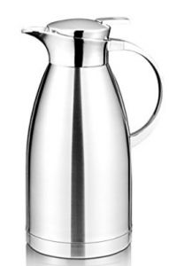 Coffee Thermos - 64 Oz Coffee Thermal Carafe with Lid - Stainless Steel Coffee Thermos Carafe by Hiware - Double Walled Vacuum Carafe Insulated Coffee Thermos, Coffee Brewer, Coffee Cups, Coffee Is Life, Coffee Machine, Best Coffee, Carafe, Cool Things To Buy, Vacuums