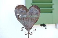 Fühlen Sie sich herzlich willkommen!!! Bathroom Hooks, Welcome, Cottage House