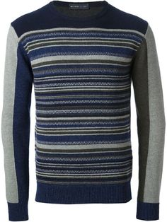 Shop Etro striped sweater in Pomposi from the world's best independent boutiques at farfetch.com. Over 1000 designers from 60 boutiques in one website.