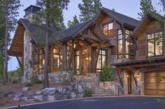 Rustic Mountain Retreat-Kelly Stone Architects-02-1 Kindesign