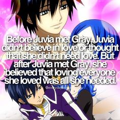 sooo true. I don't even like Gruvia. But I do like the idea of Lyon and Juvia