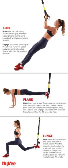 25 best fitness workout inspiration images on pinterest fitness push pull lunge and squat your way to improved total body strength fandeluxe Images
