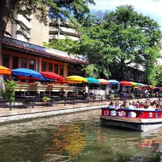 The river walk is bar far the best part of the city of San Antonio.  There is a shopping mall and sooo many great restaurants.  My favorites are County Line BBQ and Dick's Last Resort, where the wait staff are supposed to be rude.