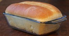 """Tupperware Bread - This """"No Knead"""" bread can be made into loaves or rolls. No Knead Bread, No Yeast Bread, Bread Baking, Sandwich Bread Recipes, Bread Machine Recipes, Croissant Sandwich, Homemade Sandwich, Basic Bread Recipe, Ma Baker"""