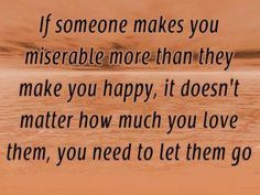 If someone...