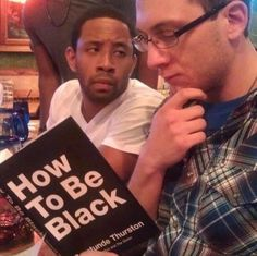 When this guy had some questions: | Black People Not Amused With White People Is The Meme The World Needs