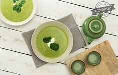 Cukinová polievka so špenátom