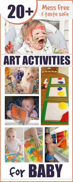 Readers often ask me for sensoryactivities for their young babies.  While many of the playtimes I share are safe for young ones to partak...