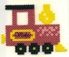 strijkkralen trein