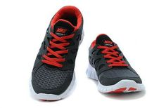 Nike Free Run 2 Mens Running Shoe Black White University Red
