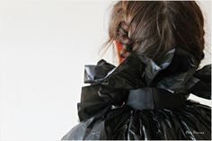 Cómo hacer un disfraz de Drácula DIY para Halloween con bolsas de basura / How to make Dracula DIY Halloween costume with garbage bags