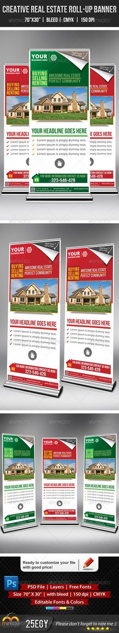 Creative Real Estate Roll-Up Banner