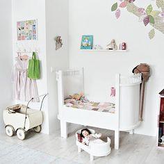white nursery...