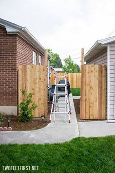 how to create fence gate