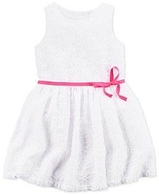 Carter's Toddler Girls' Belted Lace Dress