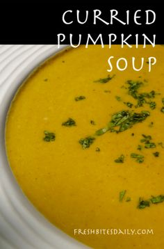 Fresh pumpkin soup by kerry simon recipe pumpkin soup soups and