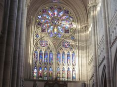 rosetón, Catedral de La Plata
