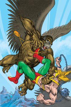 DC COMICS PRESENTS: HAWKMAN #1 cover by José Luis García-Lopéz and Kevin Nowlan