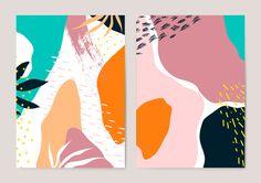 Small Canvas Art, Diy Canvas Art, Memphis, Watercolor Paper Texture, Motif Floral, Artwork Prints, Art Inspo, Pop Art, Abstract Art