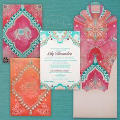 """""""It's back! We're counting down the Top 10 Invitations of the Year! For the next ten days, we'll be sharing a favorite Ceci New York design from 2015.…"""""""