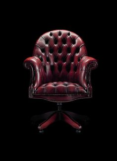 Leather Chesterfield office chair from R14 350