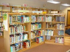 This elementary librarian has many great ideas. So want to reorganize MES this way & grateful the administrators are on board!