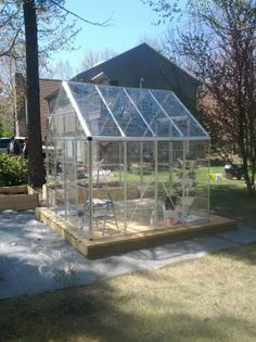 greenhouse Chicken Coups, Cold Frames, Portable Greenhouse, Outdoor Buildings, Potting Sheds, Tree Houses, Maine House, Decking, Garden Styles