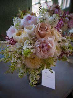 Wedding Bouquet - Wildflower - Dusty Rose, Ivory