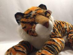 Ty Tiger Pinstripes Plush Jumbo 34 Inches Jungle Animal Wild Cat Stuffed Animal  #Ty