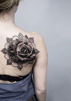 Realism Flowers Tattoo by Timur Lysenko