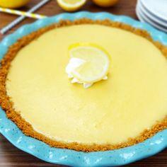Pastel Frio de Limón