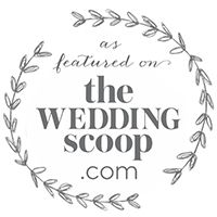 as featured on The Wedding Scoop