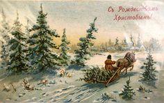 Самые волшебные рождественские открытки царской России // MSK.KP.RU Комсомольская правда в Москве
