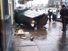 Foto ciudadana de hoy: Daños por accidente