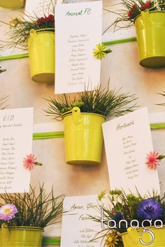 Plan de table de mariage by Tanaga ambiance designer Oui, Plant Holders, Plans, Designer, Fall Decor, Stationary, Planter Pots, Table Decorations, Home Decor