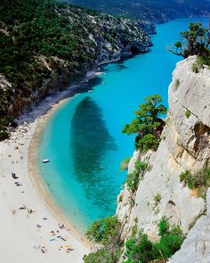 Cala di Luna, Sardinia, Italy (by SalvadoriArte) for more on this awesome beach visit www.my-piedmont.com