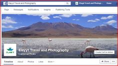 A Travel and Photography Facebook Page with lots of interesting articles