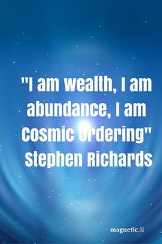 Abundance is already