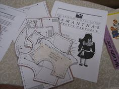 """Sewing Doll Clothes-Free Patterns for  18"""" doll"""
