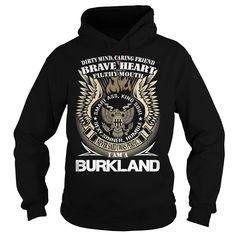 BURKLAND Last Name, Surname TShirt v1