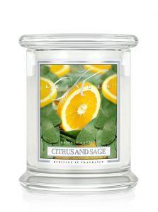 Citrus and Sage Giara Media (411 gr.) Kringle Candle