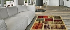 Bathroom Rugs Ideas | AntiBacterial Rubber Back AREA RUGS NonSkidSlip 5x7 Floor Rug  Contemporary Frame Boxes Garden IndoorOutdoor Thin Low Profile Living Room Kitchen Hallways Home Decorative Traditional Area Rug >>> Details can be found by clicking on the image. Note:It is Affiliate Link to Amazon. #mens