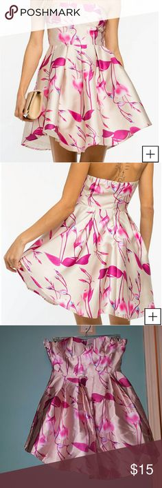 NTW Floral Dress from AGACI ????? NTW Floral Skater Strapless Dress! agaci Dresses Strapless