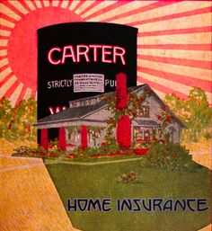 """This 1917 ad suggests Carter White Lead paint is """"home insurance."""""""